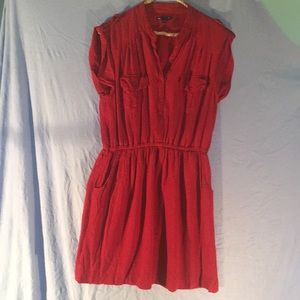Red and Navy Gap Dress